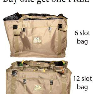 BOGO–Slotted Decoy Bag – 6 or 12 Slots