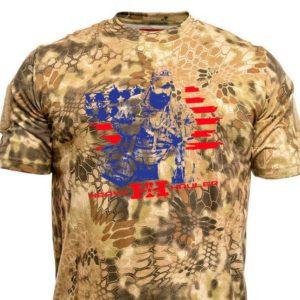 AR1–Merica' T-shirt–Kryptek camo