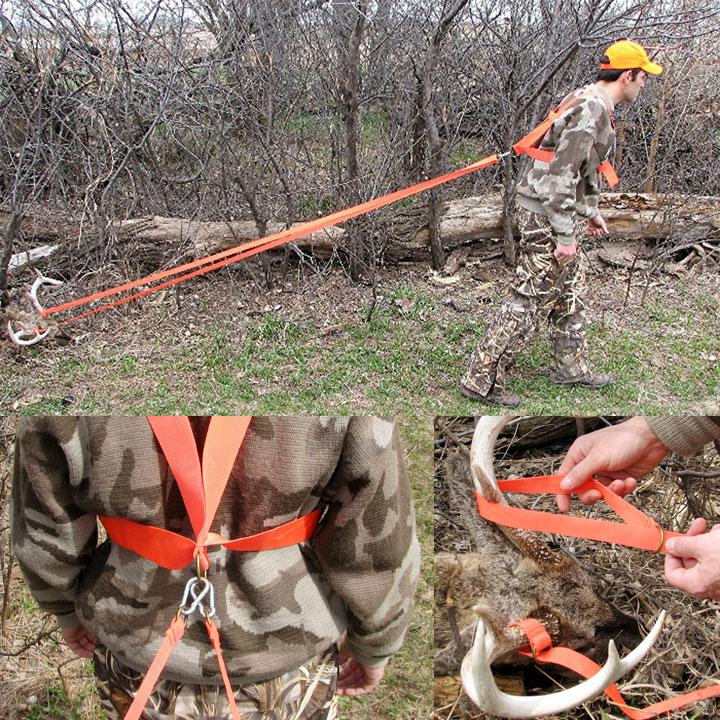 Deer Drag Harness Heavy Hauler Outdoor Gear